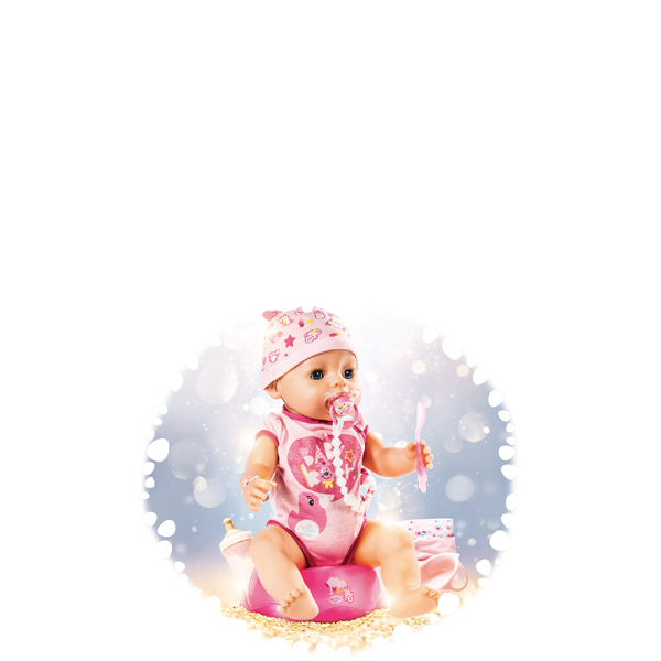 Baby born Soft Touch Girl 43cm 824368